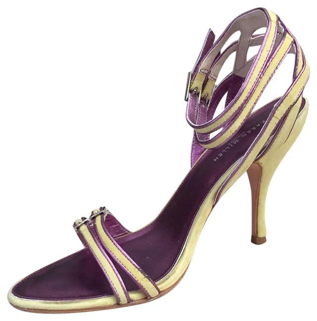Item - Lime and Purple Unknown Pumps Size US 7 Regular (M, B)