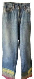 Bella Dahl Trouser/Wide Leg Jeans-Light Wash