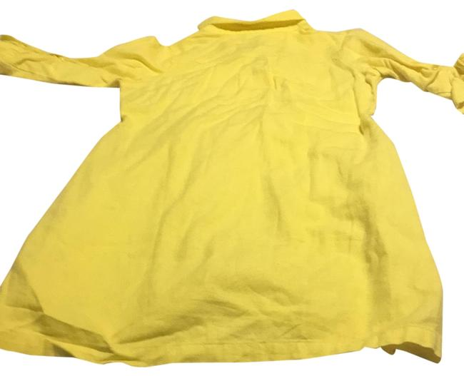 Item - Yellow Cover Up Or Sun Short Casual Dress Size 0 (XS)