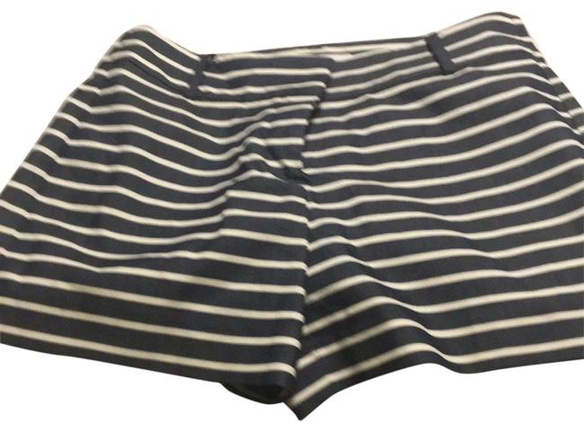 Item - Navy/ Cream Stripped Nautical Shorts Size 2 (XS, 26)