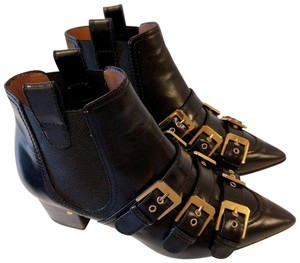 Laurence Dacade Buckled Leather Black Boots