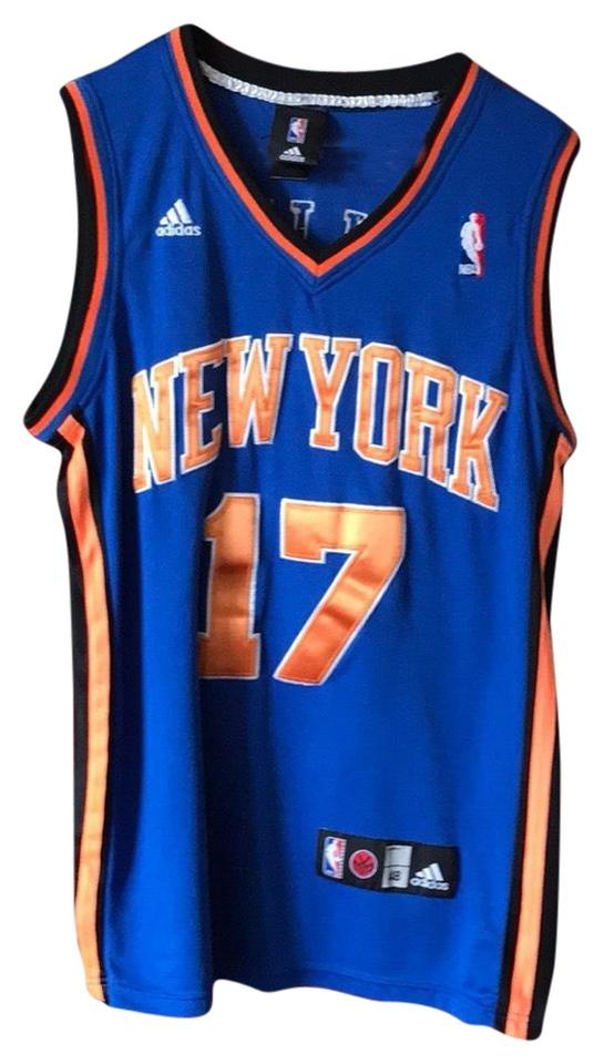 new arrival 8283a 485df adidas Jersey Jeremy Lin Knicks Youth Large Pre Owned Activewear Top Size  12 (L)