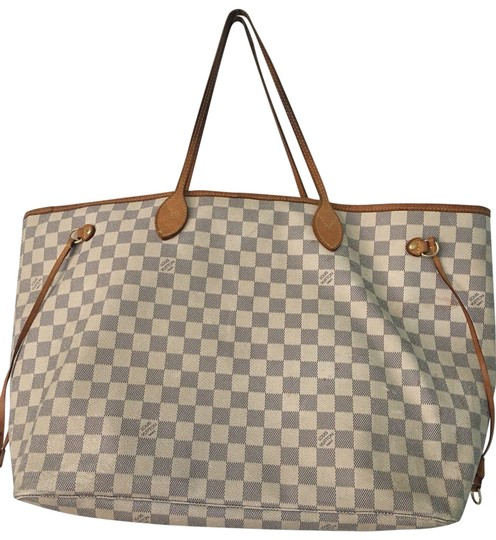 Preload https://img-static.tradesy.com/item/23448051/louis-vuitton-neverfull-monogram-damier-gm-whitebrown-canvas-tote-0-1-540-540.jpg