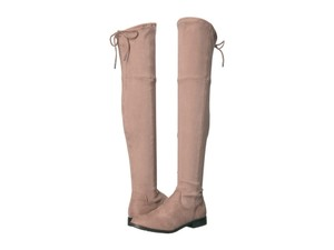 Dolce Vita Suede Tall Over The Knee Taupe Boots