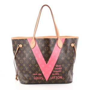 Louis Vuitton Neverfull Monogram Limited Edition Mm I Have Box Shoulder Bag