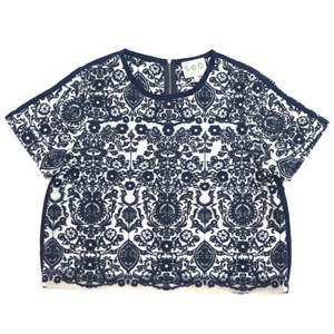 Sea Top Navy Blue