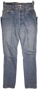 Vetements Restitched Pockets Reworked Denim High Waisted Relaxed Fit Jeans-Light Wash