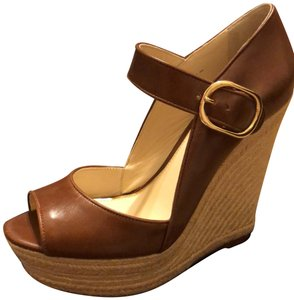 cbad1b03dbae Rachel Zoe New Sandal Brown Leather NWT-NEW--Brandy Platforms