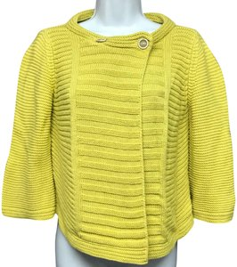 Piazza Sempione Knit Top Chartreuse