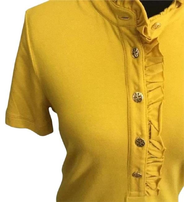 Item - Soleil Yellow W New Tag Lidia Button-down Top Size 8 (M)