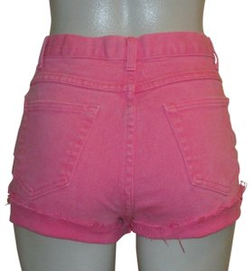 Newport News Cut Off Shorts Pink