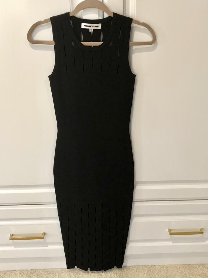 252d30906d8 MCQ by Alexander McQueen Black Cutout Bodycon Mid-length Night Out Dress  Size 2 (XS) - Tradesy
