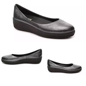 FitFlop anthracite Flats