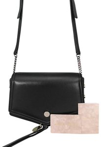 Jimmy Choo Leather Arrow Cross Body Bag