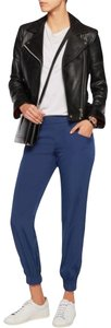 W118 by Walter Baker Slim Tapered Pockets Relaxed Straight Pants Blue