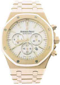 Audemars Piguet Audemars Piguet Royal Oak 18K Rose Gold Chronograph Automatic Watch