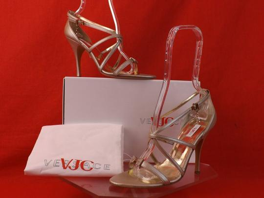 Versace Jeans Collection CHAMPAGNE Sandals Image 5