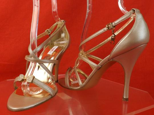Versace Jeans Collection CHAMPAGNE Sandals Image 6