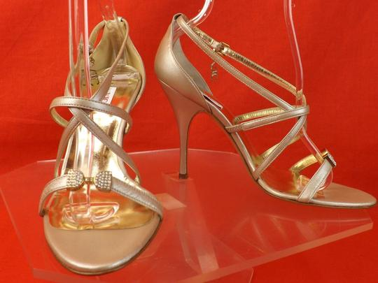 Versace Jeans Collection CHAMPAGNE Sandals Image 8
