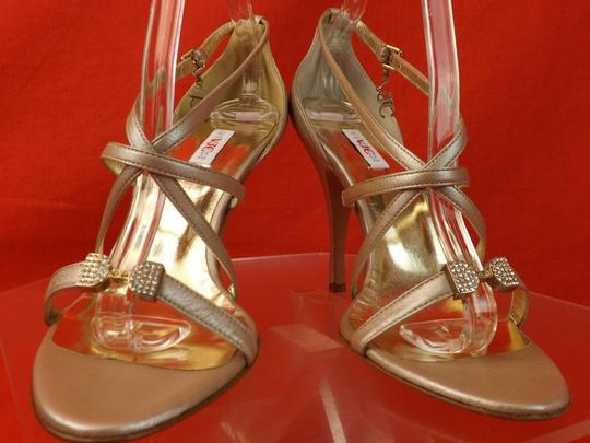 Versace Jeans Collection CHAMPAGNE Sandals Image 9