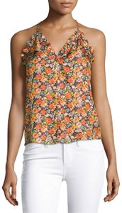 Rebecca Taylor Top Orange/Lilac