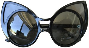Linda Farrow Khaleda Rajab 1 C1 Linda Farrow Cat Eye Sunglasses