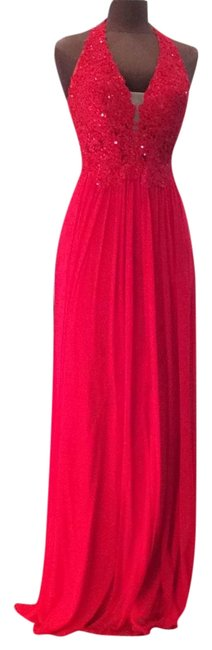 Item - Red 51553 Long Formal Dress Size 6 (S)