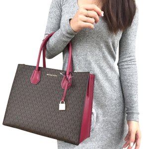 e92a96a9af03 Michael Kors Satchel - item med img. Michael Kors. Mercer Studio Large  Convertible Tote Brown Mk ...