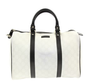 Gucci Satchel in White and Grey GG