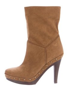 Stella McCartney Studded Chunky Brown Boots