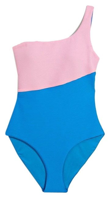 Item - Pink & Blue Sienna One-piece Bathing Suit Size 10 (M)