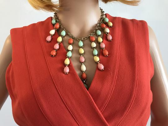 Other Multi Bright Statement Necklace Image 4