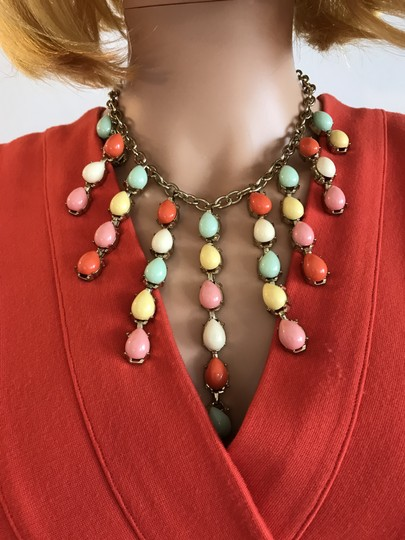 Other Multi Bright Statement Necklace Image 6
