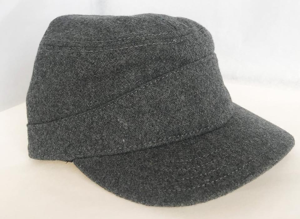 Pendleton Grey Wool Tank Cap with Jacquard (Small) Hat - Tradesy b134f6c03979