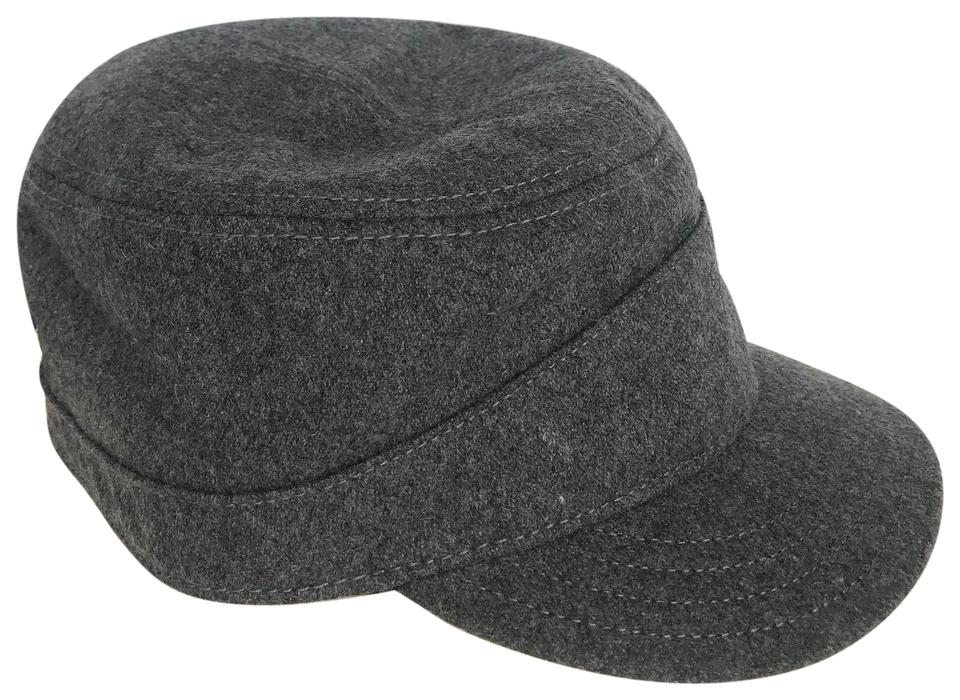 8a13d5831e9b9 Pendleton Grey Black Wool Tank Cap with Jacquard (Large) Hat Image 0 ...