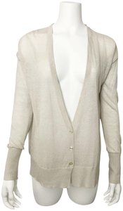 Club Monaco Zahara Multi Media Linen Blend Cardigan
