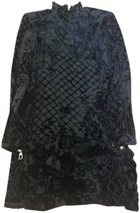 black Maxi Dress by Balmain x H&M One Of A Kind Limited Edition Velvet