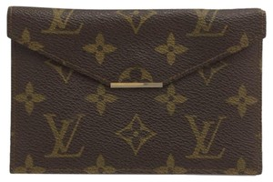 Louis Vuitton Monogram Canvas Card Passport Case Wallet