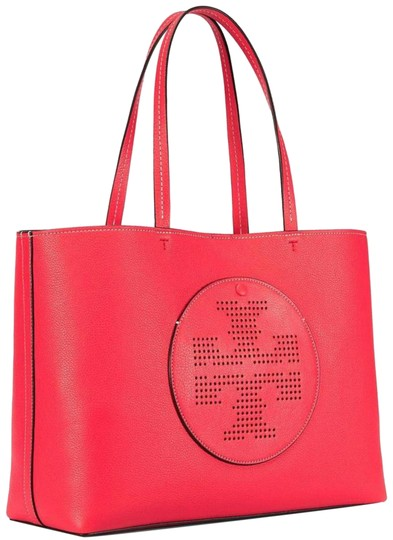 Preload https://img-static.tradesy.com/item/23453480/tory-burch-perforated-logo-red-ginger-tuscan-wine-leather-tote-0-3-540-540.jpg