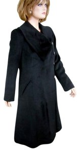Harvé Benard Portrait Asymmetrical Swing Coat