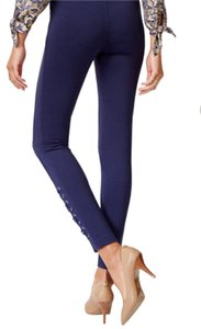 Michael Kors Skinny Pants Navy Blue