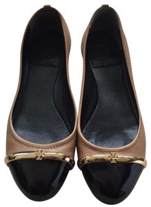 Tory Burch Nude/Brown Flats