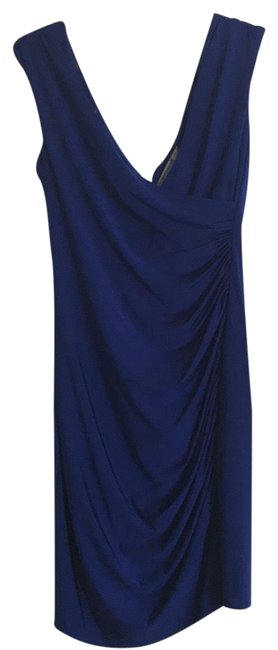 Item - Cobalt Blue Unknown Short Night Out Dress Size 6 (S)