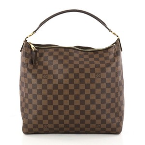 Louis Vuitton Shoulder Bags Tote Damier Ebene Portobelo Hobo Bag