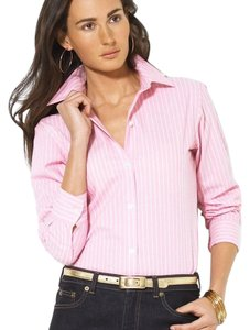 Lauren Ralph Lauren Button Down Shirt pink