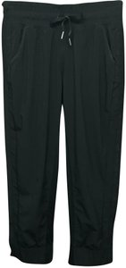 Lululemon Lululemon Side Snap Closure Elastic Waist Black Pants 4