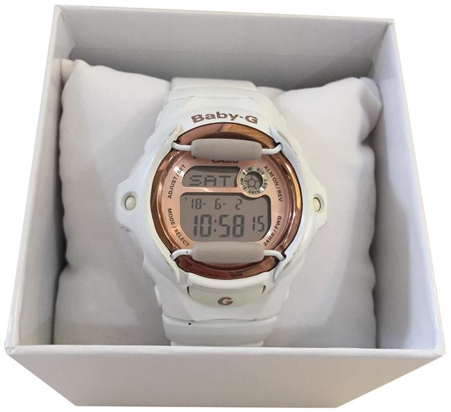 Item - White and Rose Gold Shock Watch