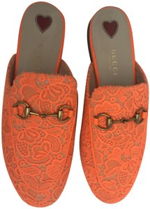 Gucci Orange Mules