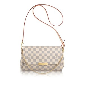 Louis Vuitton Favorite Damier Monogram Neverfull Cross Body Bag