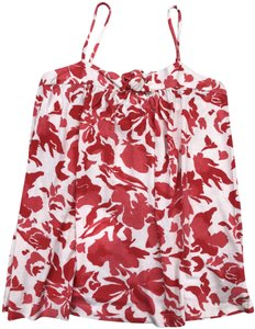 Juicy Couture Top Red print